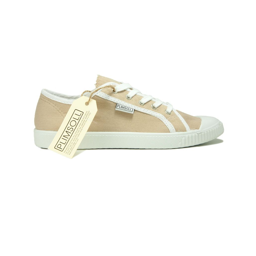 Womens Beige Low