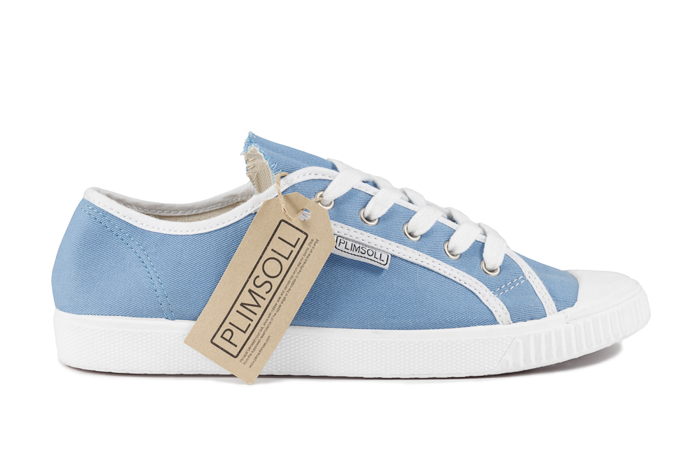 Womens Pale Blue Low