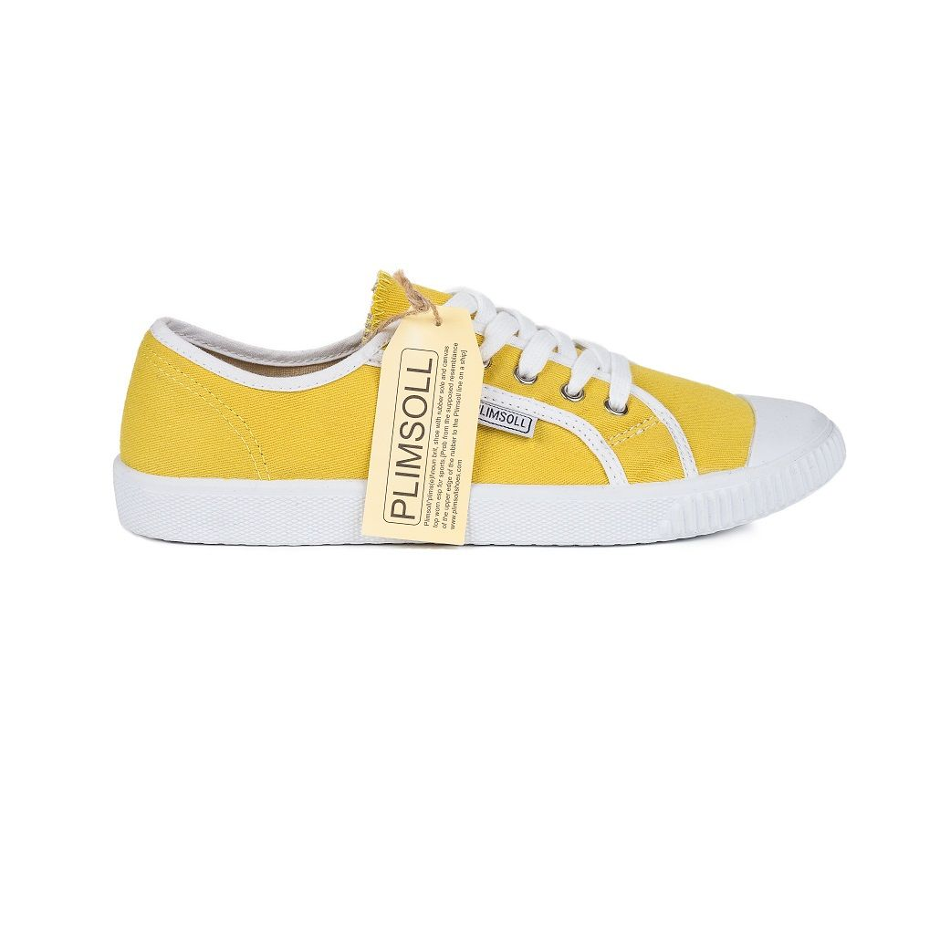 Womens Yellow Low